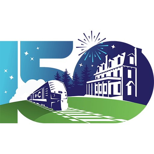 Site icon for Town of Carys 150th anniversary