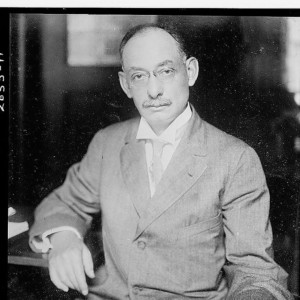 Portrait photo of Walter Hines Page.